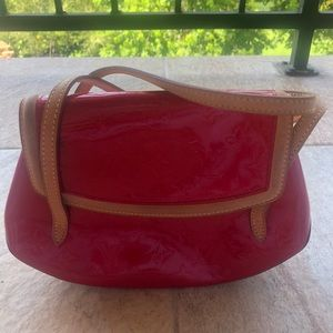 Louis Vuitton Biscayne Bay PM Vernis Bag - Red